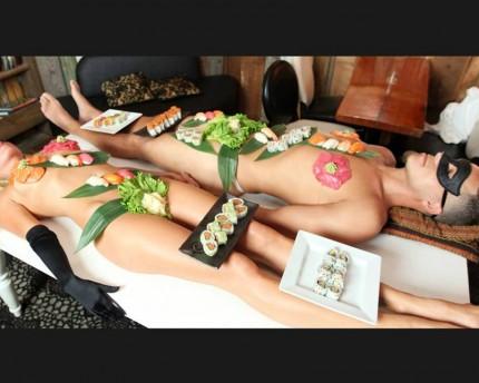 sushi body, afrodisiacos,