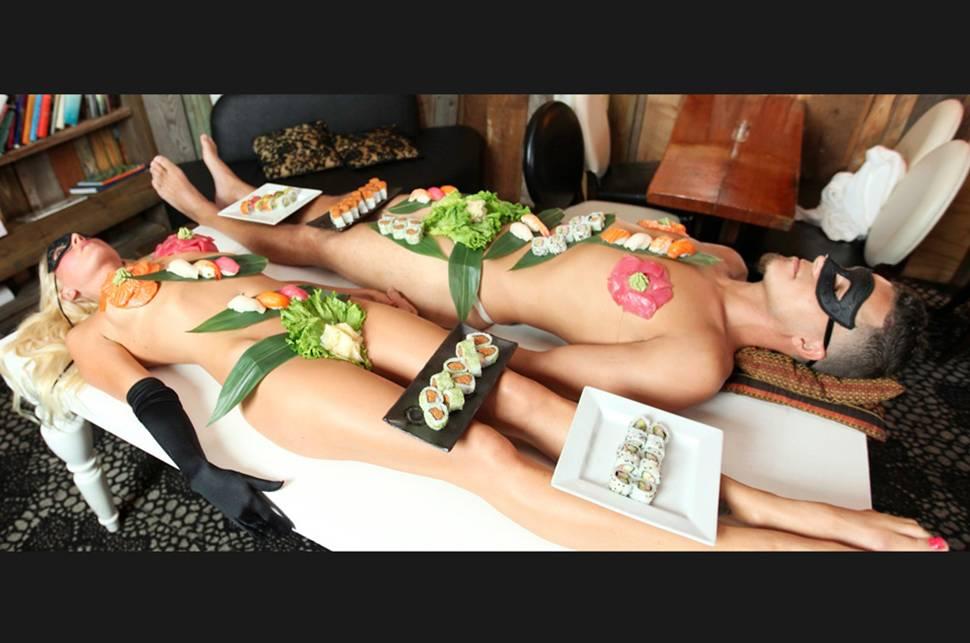 Imagen de Body Sushi. Nyotaimori. Nantaimori