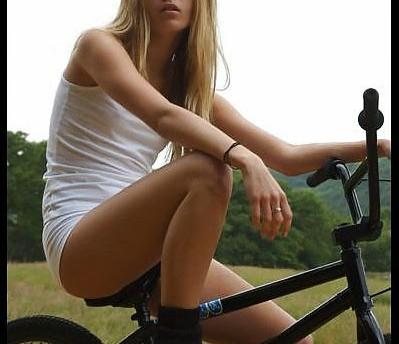 bicicleta, impotencia, ciclistas