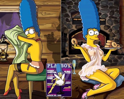 Marge Simpsons, sexy, original, Matt Groening, Playboy