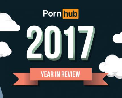 Estadísticas Pornhub 2017