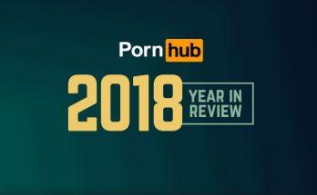 Estadísticas pornhub 2018