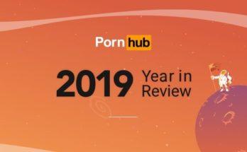 Portada estadística pornhub 2019